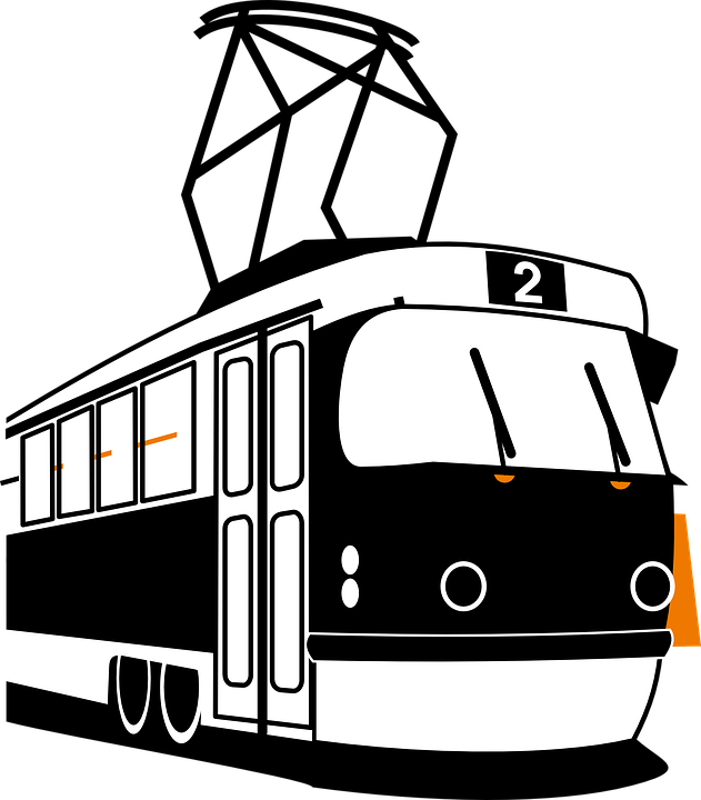 Tram, Motore, Elettrico, Mezzi Di Trasporto, Veicolo