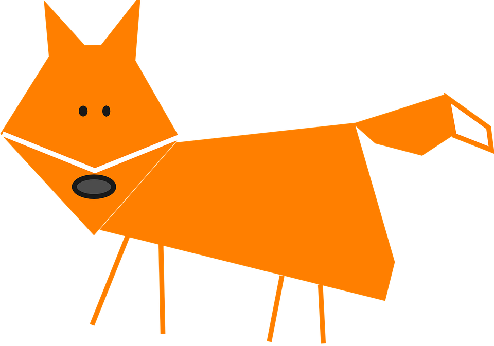cartoon clipart of a fox - photo #35