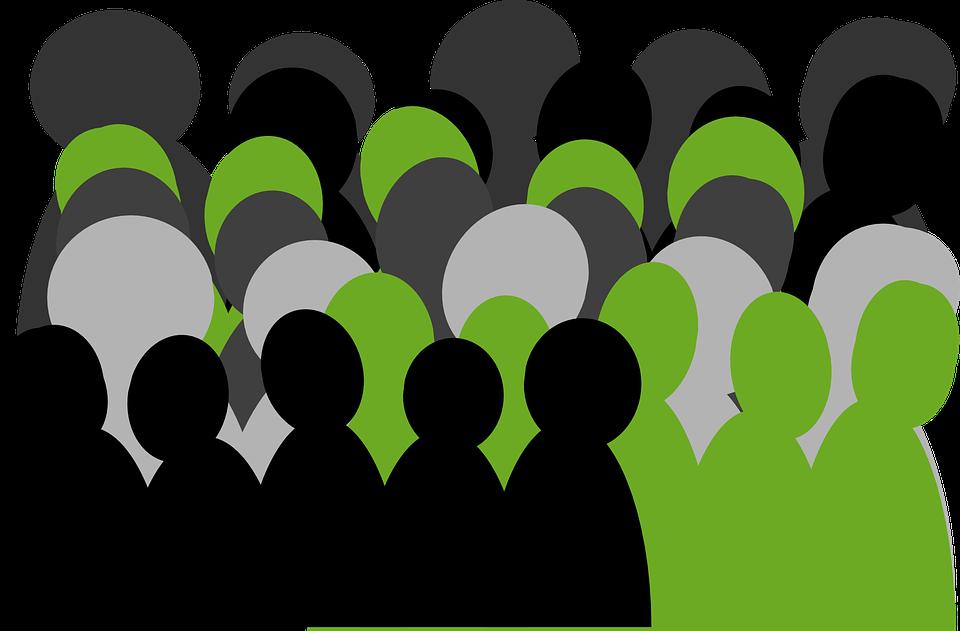 Grupo, Pessoas, Multidão, Reunião, Equipe, Audiência, Linhas