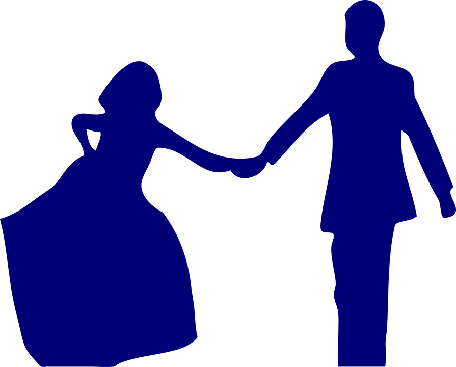 Man Woman Holding Hand Free Vector Graphic On Pixabay