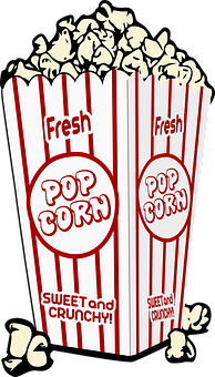 Pop Corn Popcorn Corn Food Snack Eat