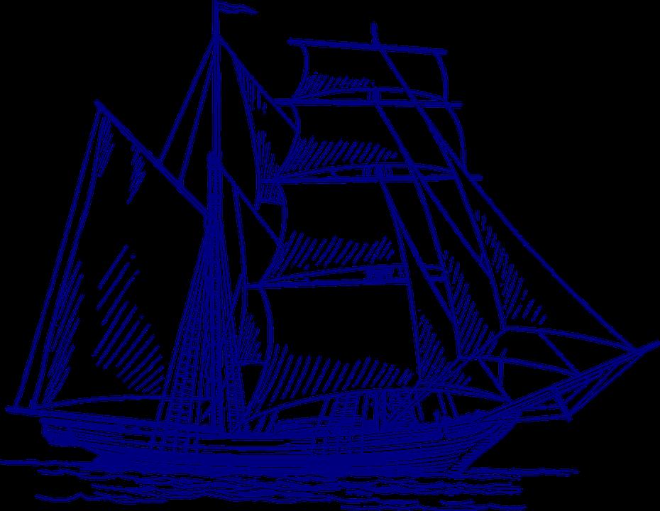 Kapal Layar Berlayar Gambar Vektor Gratis Di Pixabay