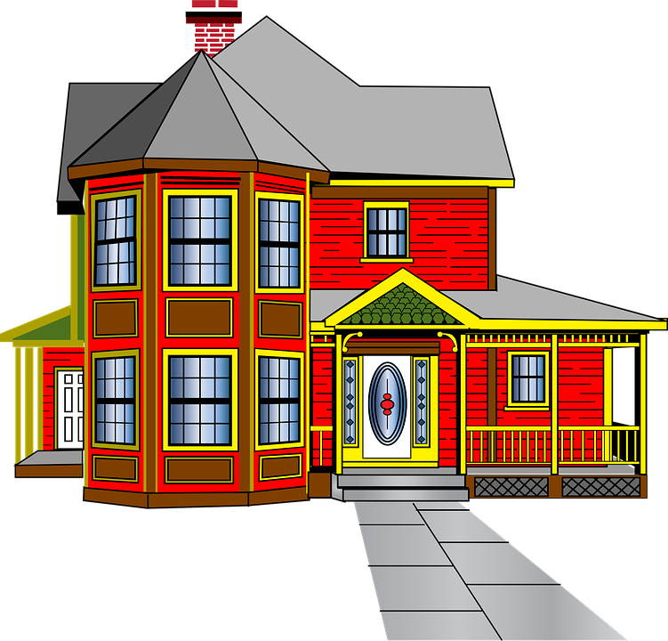 House Colonial Architecture · Free Vector Graphic On Pixabay