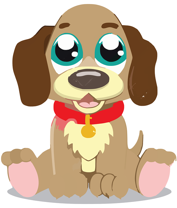puppy pet dog free vector graphic on pixabay rh pixabay com cute husky puppy clipart cute puppy clipart free