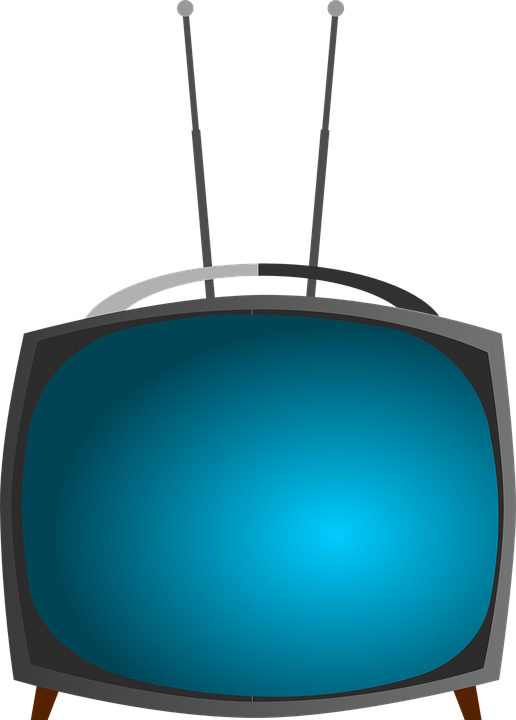 tv television set 183 free vector graphic on pixabay