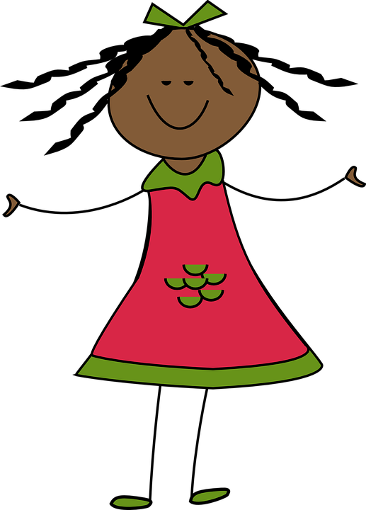Free vector graphic: Girl, Happy, Smile, Smiling, Child ...