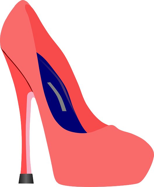 free vector graphic high heels pink blue stiletto. Black Bedroom Furniture Sets. Home Design Ideas