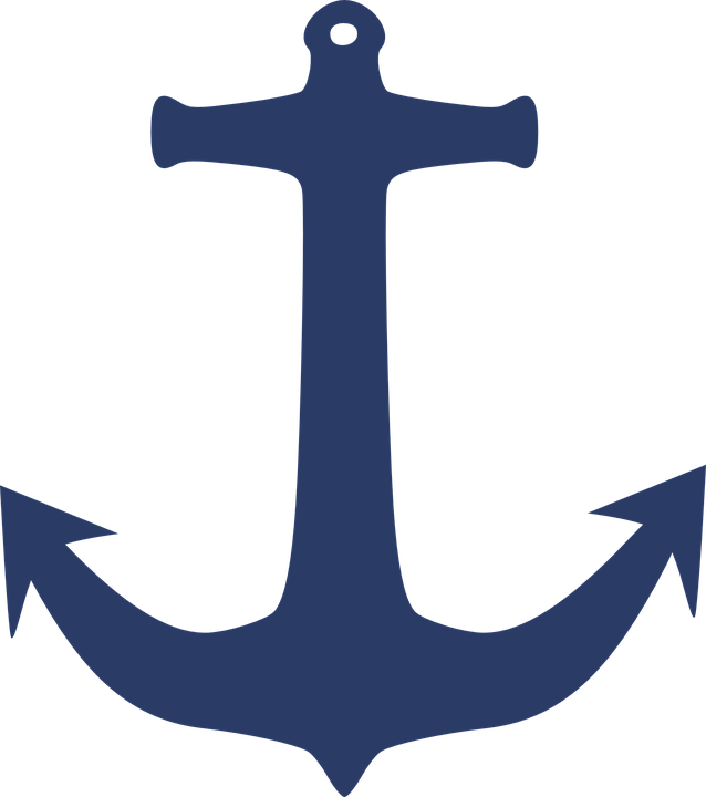 Anchor Sea Yacht 183 Free Vector Graphic On Pixabay