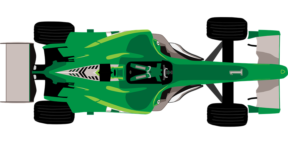 Free Vector Graphic Car Racing Speed Auto Green Free Image