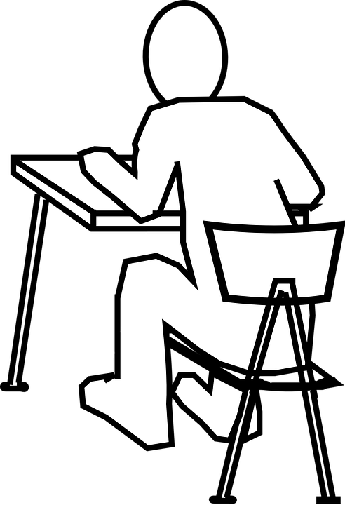 Pleasing Desk Chair Man Free Vector Graphic On Pixabay Onthecornerstone Fun Painted Chair Ideas Images Onthecornerstoneorg