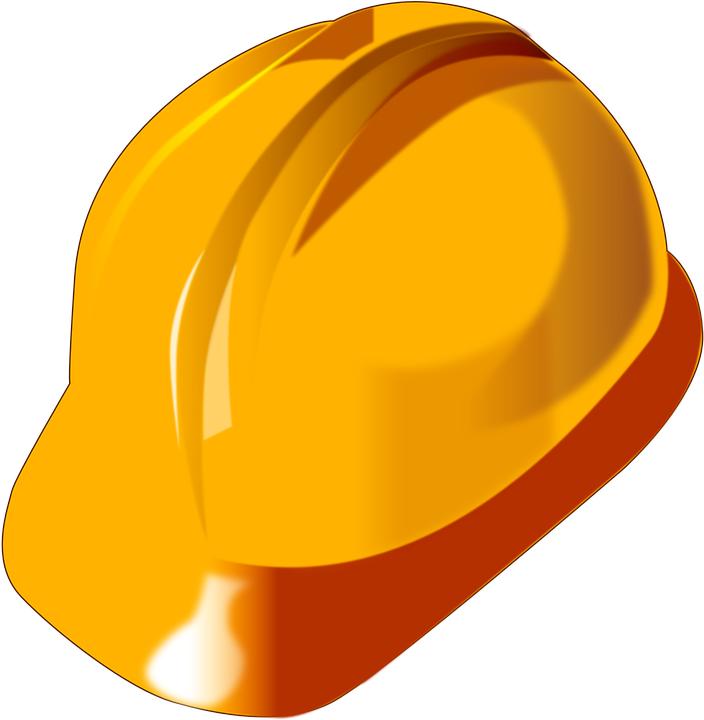 Helmet, Worker, Protection, Industrial, Yellow, Workman