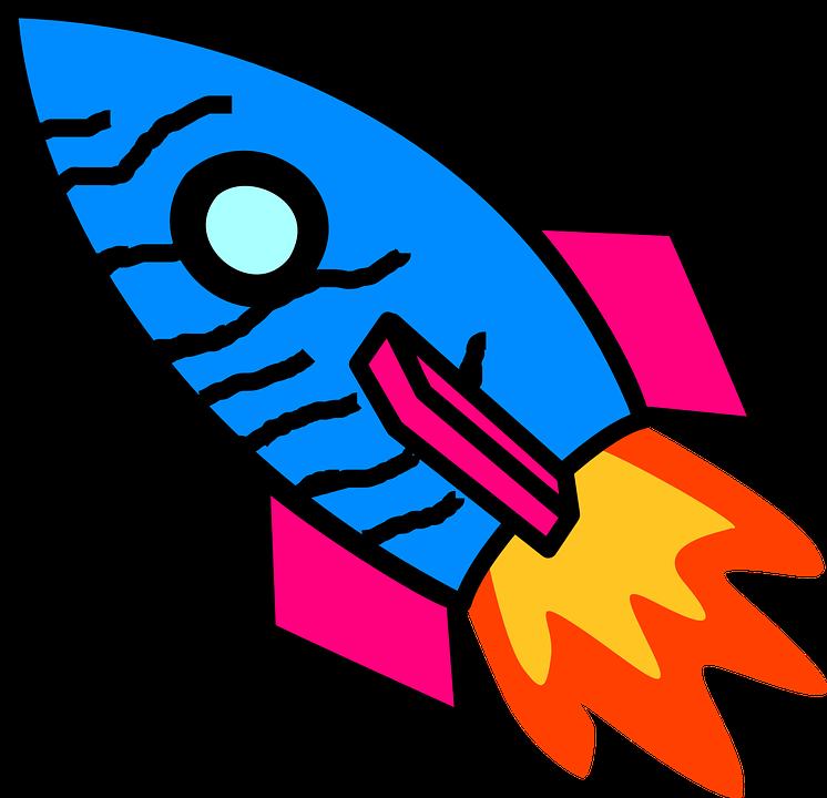 Download 920  Gambar Animasi Roket HD Paling Keren