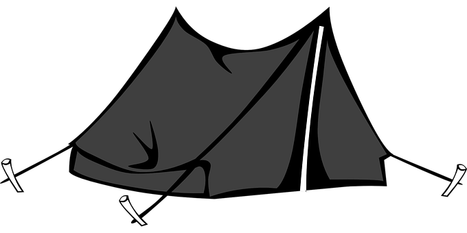Tent, Pitched, Nature, Leisure