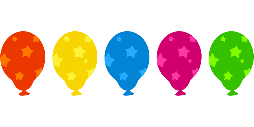 Balloons Inflated Air 183 Free Vector Graphic On Pixabay