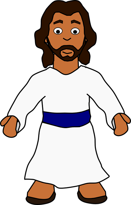 jesus man figure free vector graphic on pixabay rh pixabay com free clipart jesus free clipart jesus loves you