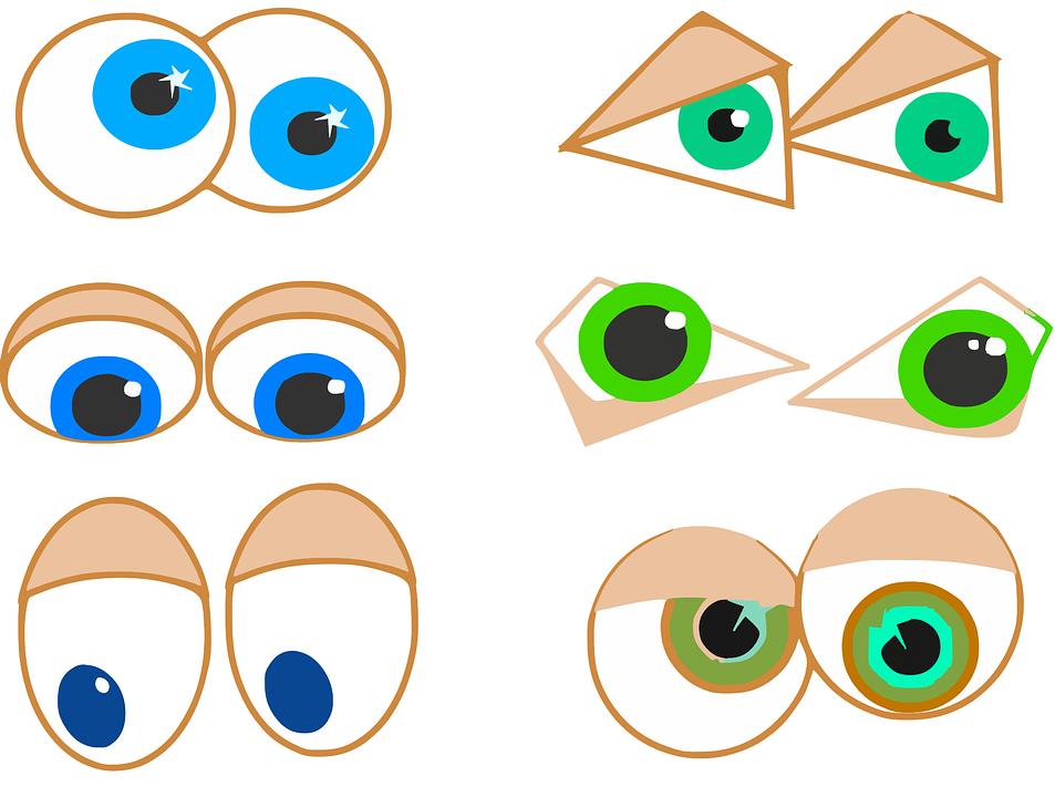 Augen Anatomie Sehvermögen · Kostenlose Vektorgrafik auf Pixabay