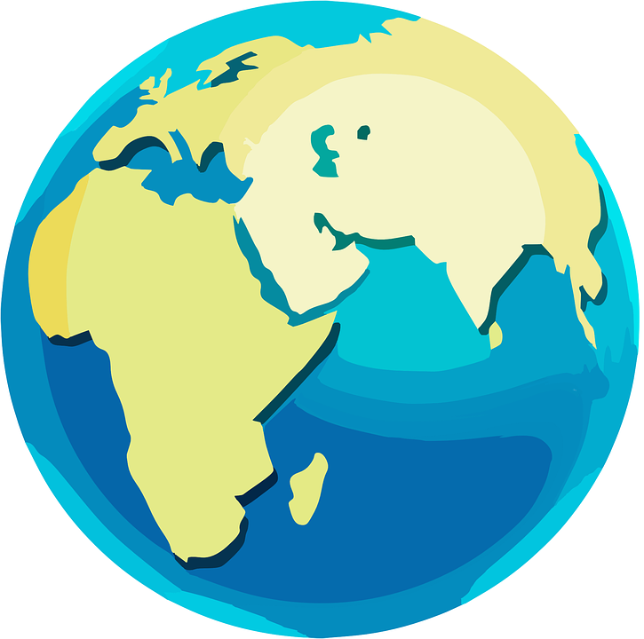 Free vector graphic globe world map earth planet free image on pixabay - Globe maison du monde ...