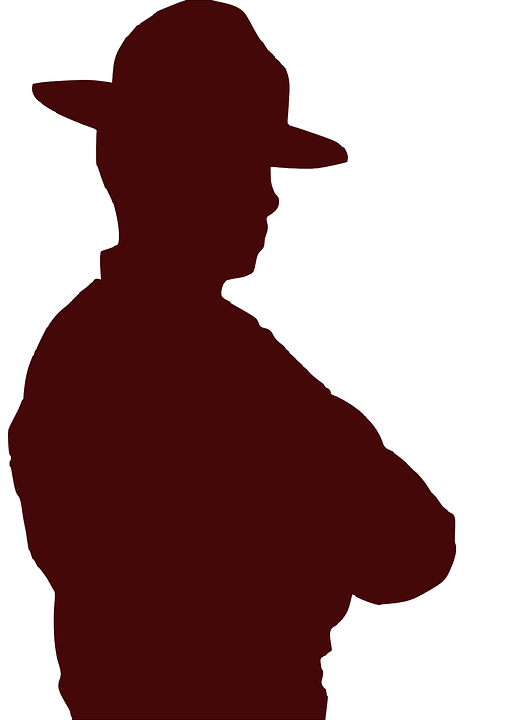 Pria Koboi Topi Gambar Vektor Gratis Di Pixabay