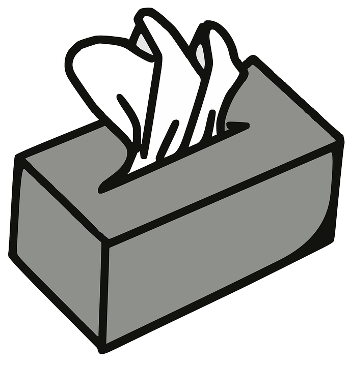 Servietten Box, Papier-Serviette, Gewebe, Papier