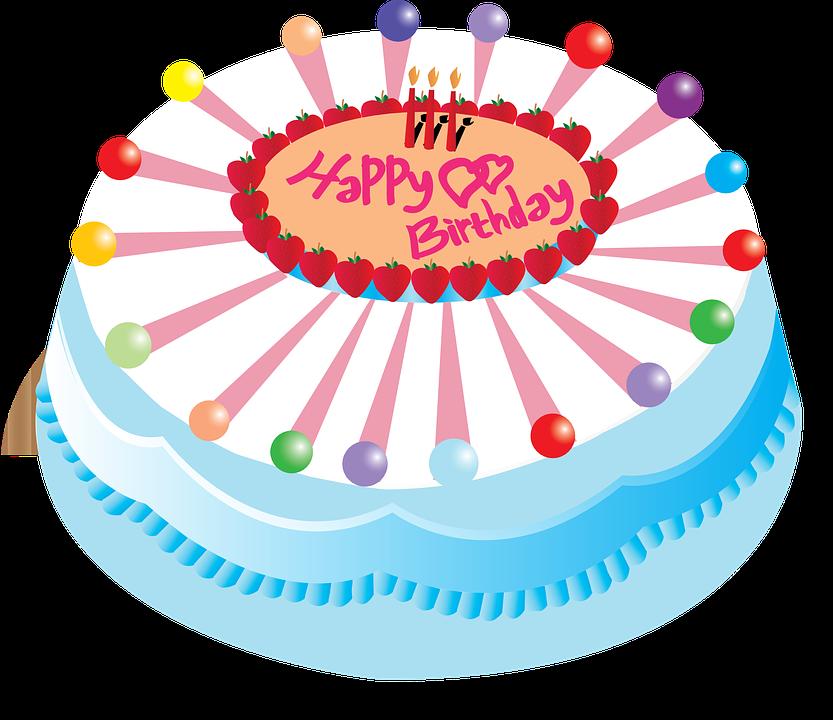 abbastanza Immagine vettoriale gratis: Torta, Compleanno, Buon Compleanno  HZ84