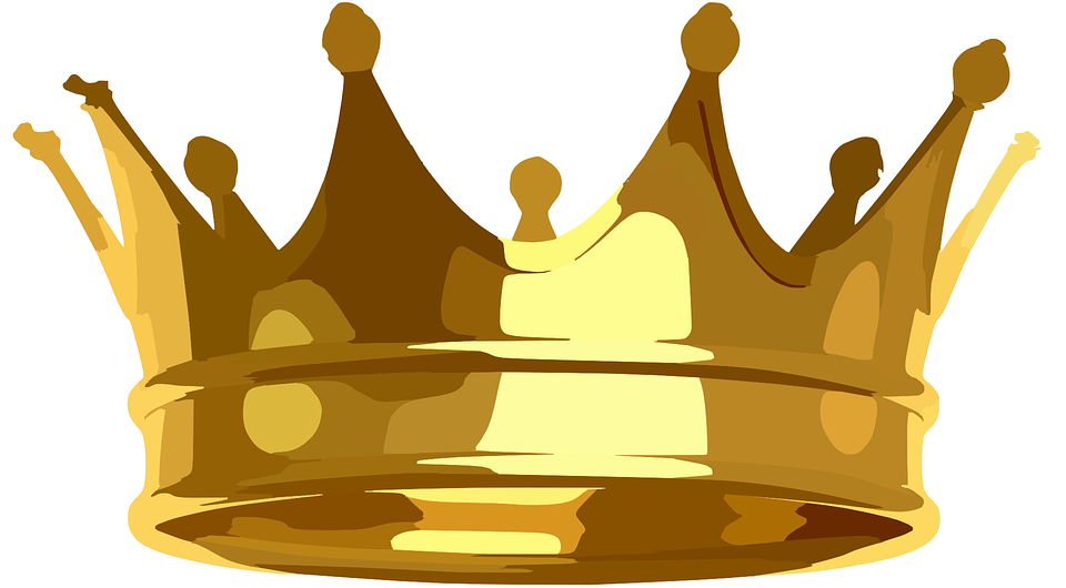 Crown Golden Royal 183 Free Vector Graphic On Pixabay
