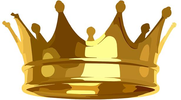 Crown, Golden, Royal, Shining, Shiny