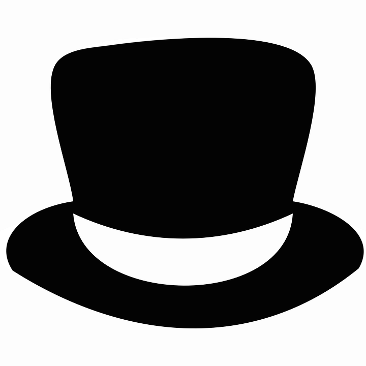 Topper Hat Black Free Vector Graphic On Pixabay
