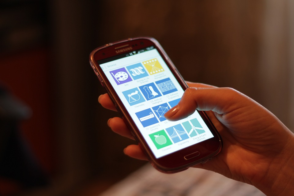 smartphone tactile