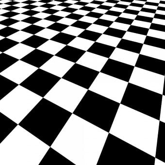 Checkered Background Abstract Red White De