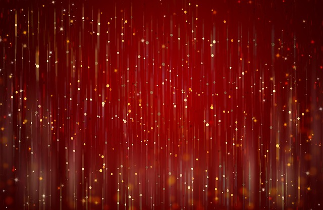 free illustration  red  abstract  background  glitter