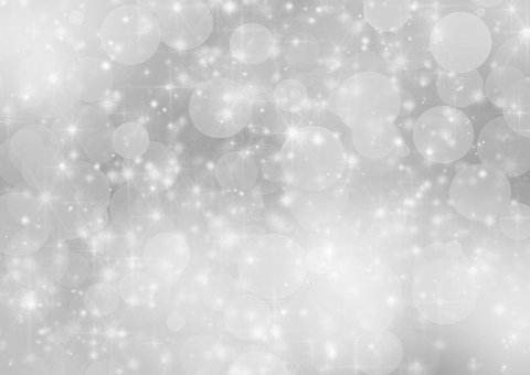 Silver Background Holiday Bokeh Abstr