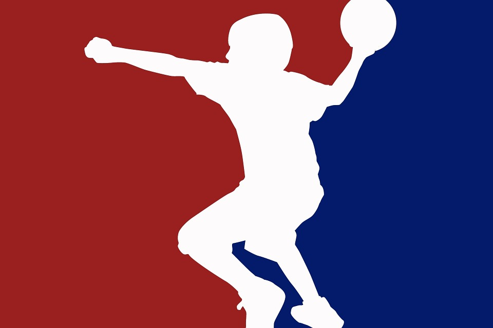 Dodgeball, Mlb, Logotipo, Banner, Flyer, Arte, Diseño