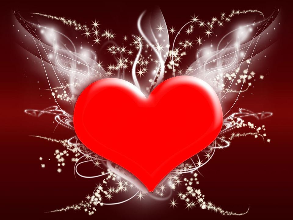 Cuore Glitter Luce Immagini Gratis Su Pixabay