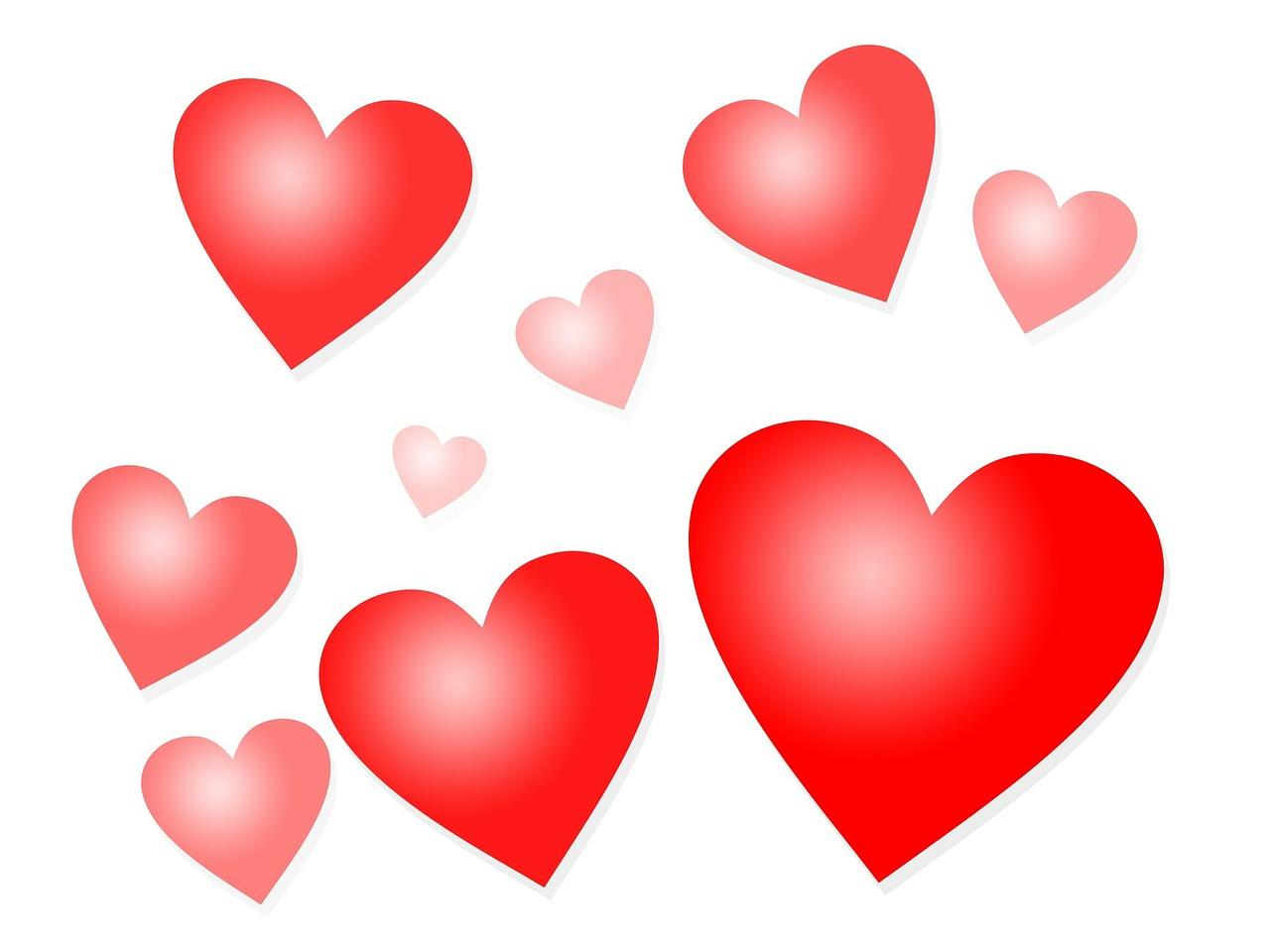 картинки сердечек в пнг на прозрачном фоне так