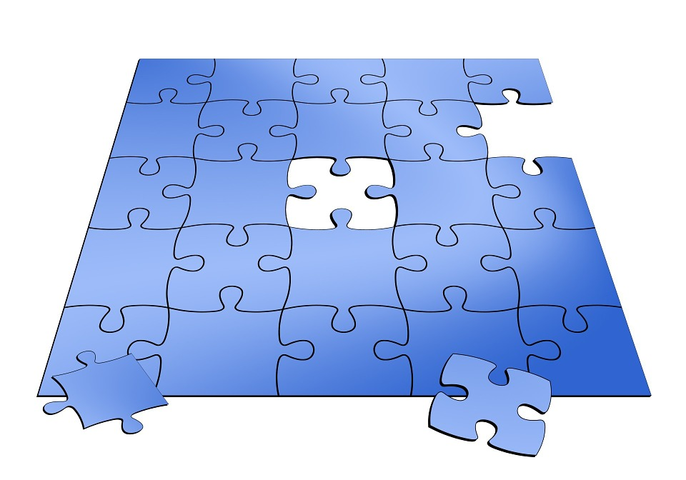 Jigsaw Puzzle Missing Piece Part Business