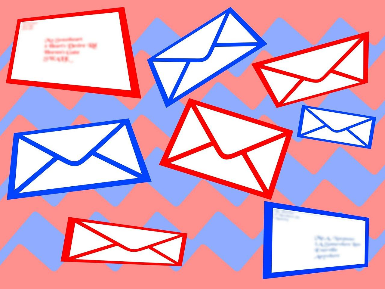 картинки на фон почты появился