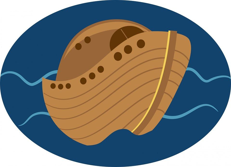 Ilustración gratis: Arca De Noé, Barco, El Agua - Imagen gratis en ...