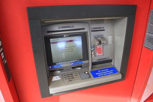 Atm お金 クレジット カード 銀行 マシン ターミナル キャッシュ カード デビ