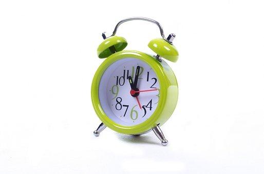Clock, Alarm, Watch, Green, Time, Sleep