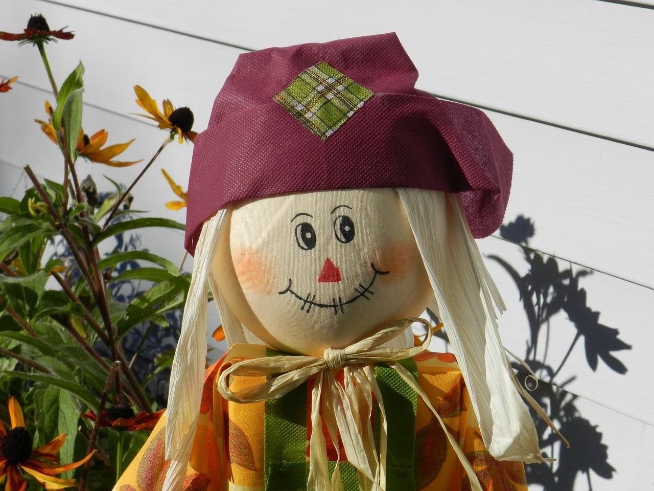 Scarecrow Autumn Decoration - Free photo on Pixabay
