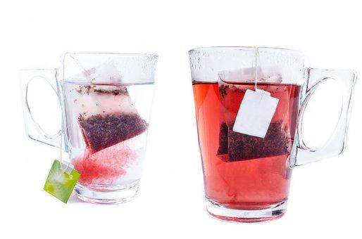 Tea, Cup, White, Teabag, Mug, Glass