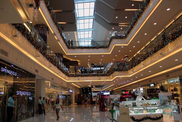 Free Photo Mall Hallway Mall Shopping Mall Free Image
