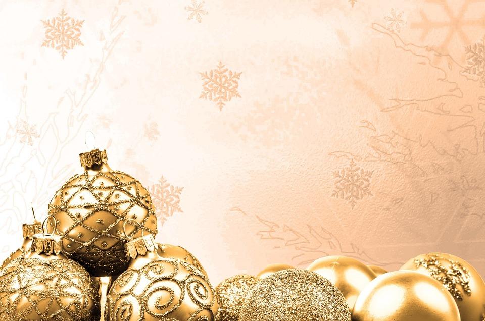 Dekoration gold weihnachtszeit kostenloses foto auf pixabay - Dekoration gold ...
