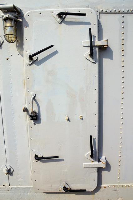 Door Ship Metal 183 Free Photo On Pixabay