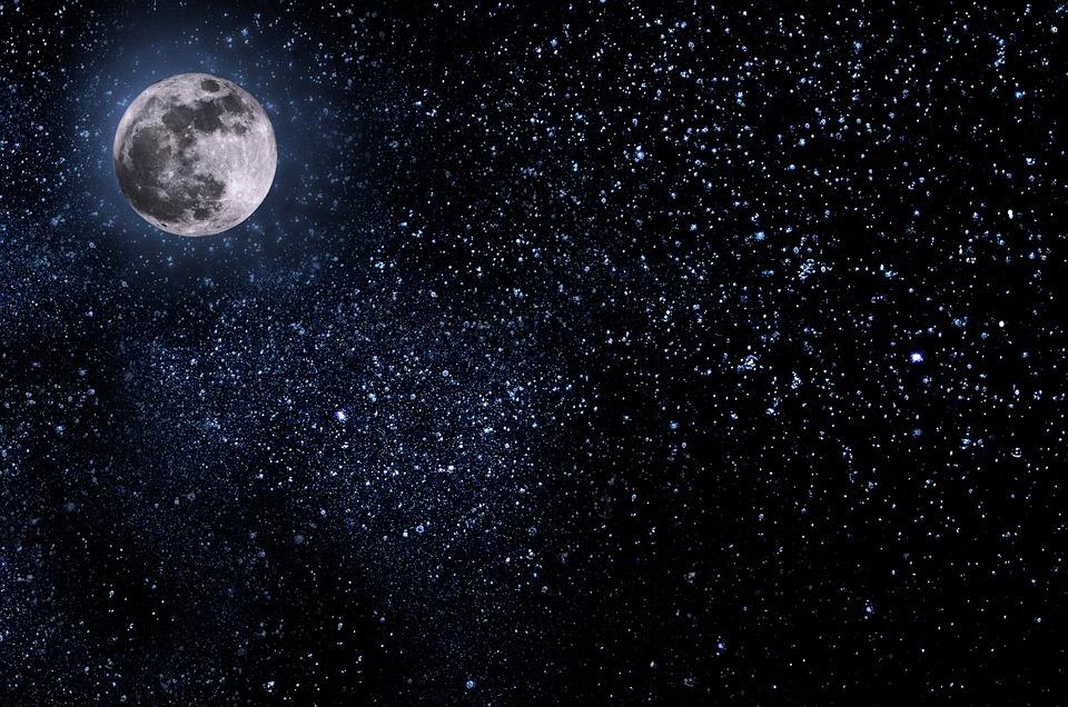 Resultado de imagen para luna estrellas