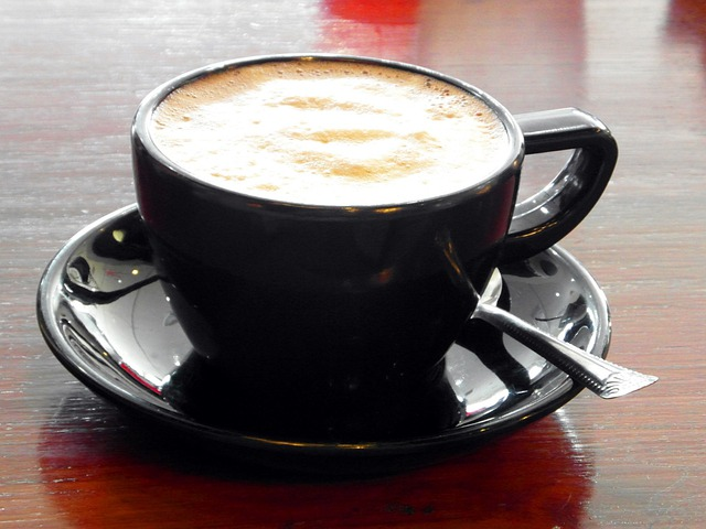Free Photo Black White Barista Cappuccino Free Image
