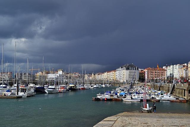 Free photo santander cantabria harbor port free - Be up santander ...