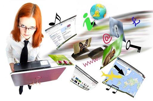 Internet, Laptop, Video, Netzwerk, Seite
