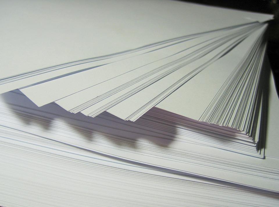 무료 사진: 종이, 다량의 종이, 스택, 화이트, 다시 정렬, 서류, 빈 ...