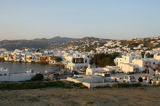 Greek, Island, Mykonos, Architecture